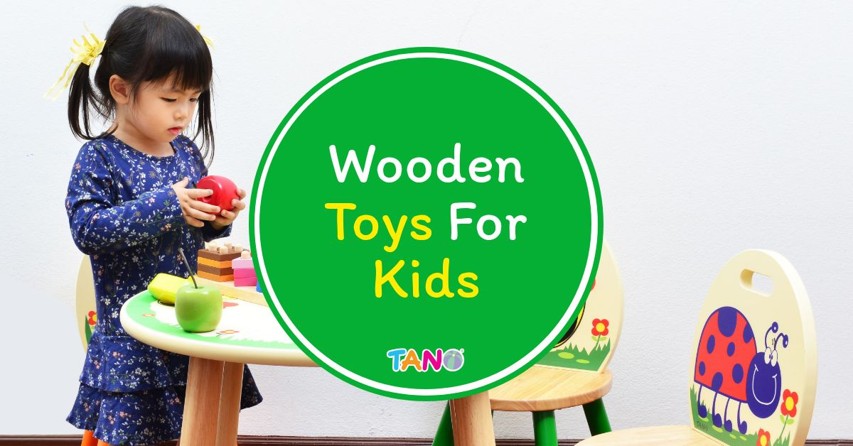 Wooden Toys For Kids from Tano 1