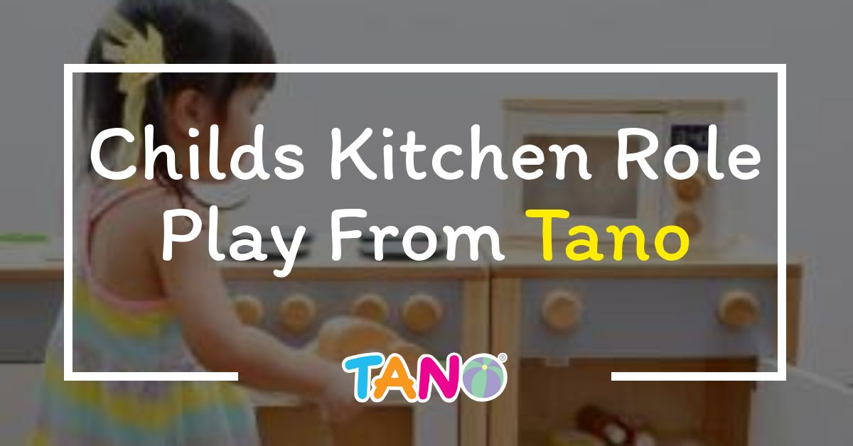 Childs Kitchen Role Play From Tano 1